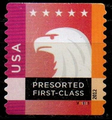 Sc# 4588 - presorted first class - PNC single - used - Pl#  V11111