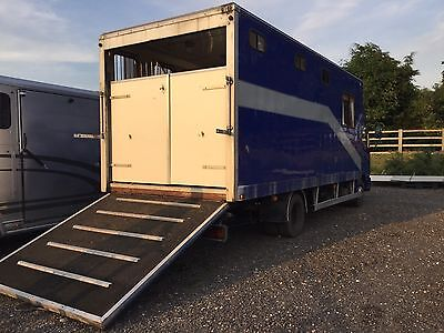 Iveco Ford Horsebox 7.5