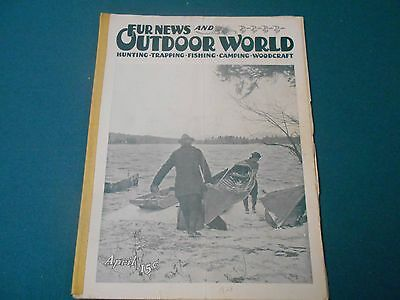 Fur News And Outdoor World Magazine April 1923, Traps, Trapping