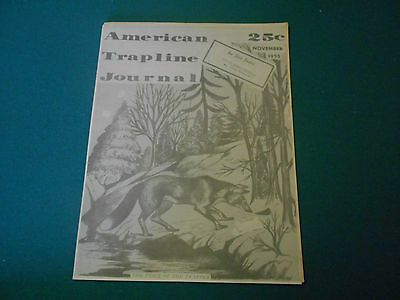 2 Issues Of American Trapline Journal Magazine George Mace Frank Terry Traps