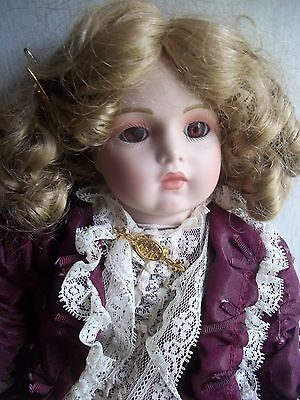 "14 "" PATRICIA  LOVELESS bebe BISQUE lmtd edition 252/2000 antique REPRO DOLL"