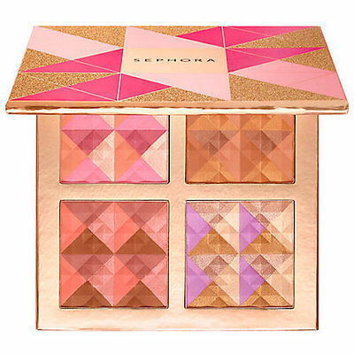 SEPHORA COLLECTION Blush, Bronzed and Ready to Glow! Face Palette $119 Value New