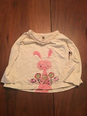 Tea Collection Bunny Shirt 18-24 Months