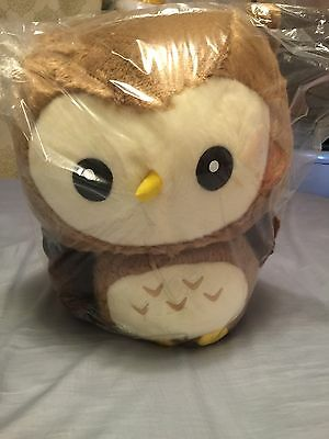 New large size Fukuro Sho Owl plushie doll imported from Japan UFO catcher Rare