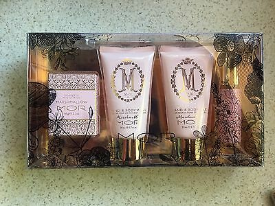 Mor Marshmallow Floral Escapade Gift Set - Body Cream Body Wash Soapette Perfume