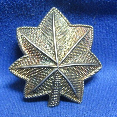 Pre-WWII 1930s Sterling Army Lieutenant Colonel Rank Shoulder Insignia by Meyer