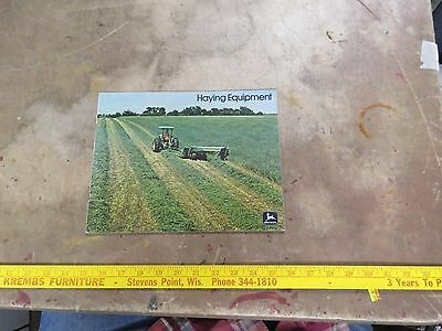 John Deere 1976 Haying Equipment brochure