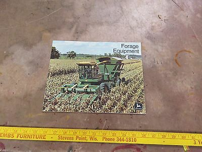 John Deere 1975 Forage Equipment brochure