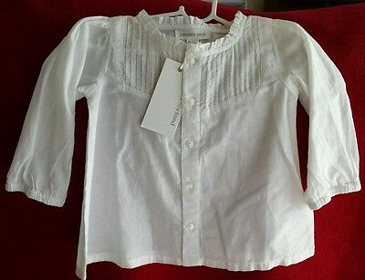 Pumpkin Patch Baby Girl Top Size 0 Brand New with Tags