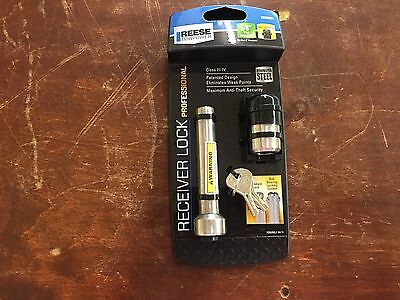 """Reese Towpower 7030200 5/8"""" Stainless Steel Pro Receiver Lock -New"""