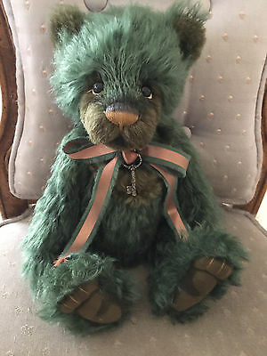 Charlie Bears Jitterbug 2016 Isabelle Mohair Collection FREE US SHIP