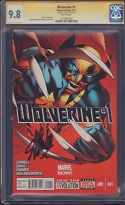 Wolverine #1 CGC SS Signed by Stan Lee 9.8!