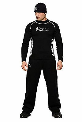 Kutting Weight Sauna Suit Weight Loss Neoprene Long-Sleeve Shirt 4xl / pants 3xl