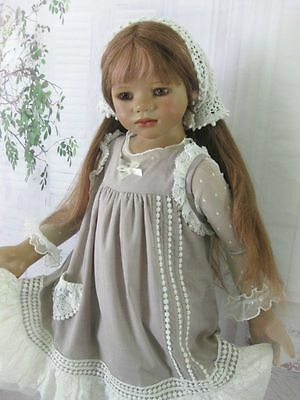 """""""Beautifu Maiden"""" Boho Style Willow Dress Set For Your Special Himstedt Dolls."""