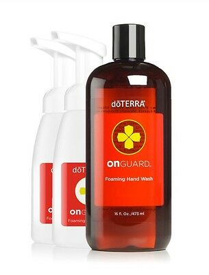 dōTERRA On Guard® Foaming Hand Wash with 2 Dispensers- Brand New