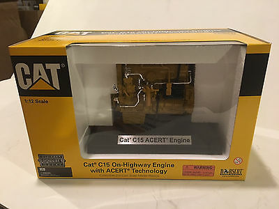 NORSCOT CATERPILLAR C15 Engine diecast 1/12 scale fits in 1/14 TAMIYA R/C TRUCK