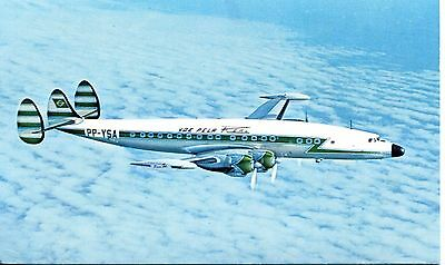 Aircraft Postcard - REAL (Brazil) Super Constellation. ACP Issue.