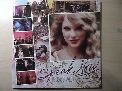 "Taylor Swift - ""Speak Now"" Special Edition Release Week Picture Book Program"