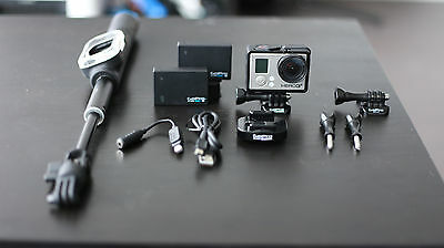 Go Pro Hero 3+ Black With several accessories (Barley Used)