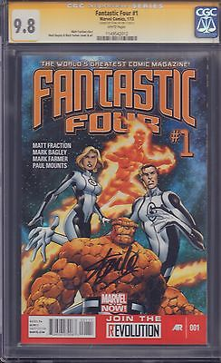 Fantastic Four #1 CGC Signed by Stan Lee 9.8!