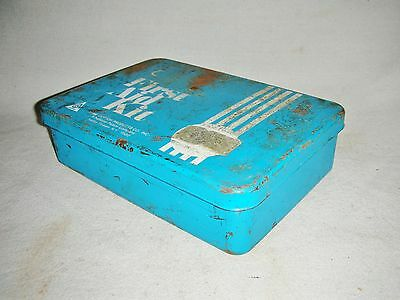 Vintage Empty Acme Cotton Products First Aid Kit Case Box Only