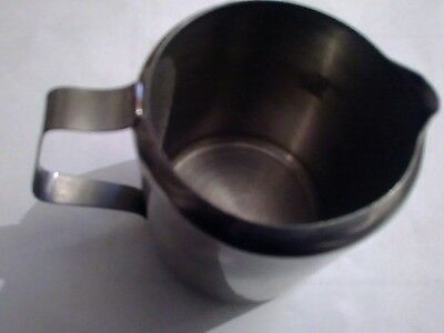 Stainless Steel Tea Coffee Milk Jug With Handle
