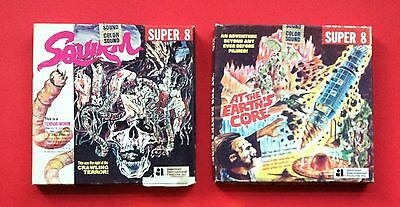 Vintage 1977 Squrim & At The Earth's Core Horror Super 8 Movie 91 Meter Length
