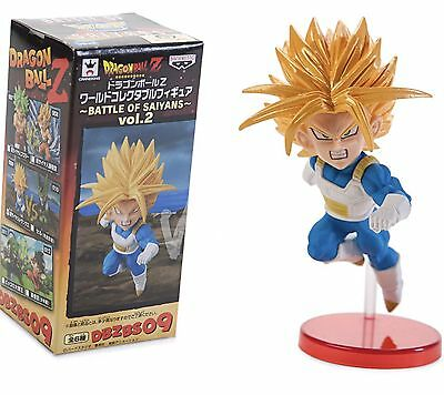 Dragon Ball Z Battle of Saiyans Vol. 2 Super Saiyan Future Trunks WCF DBZ Figure