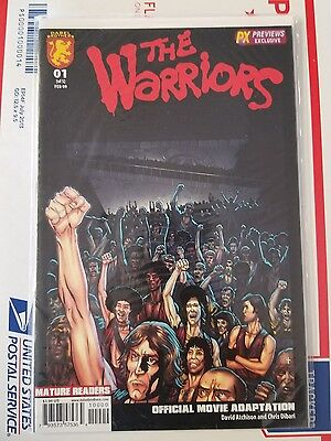 The Warriors 1 reg + variant (dabel brothers) lot of 2 NM FREE priority Shipping