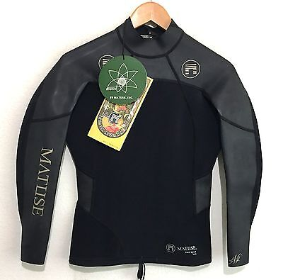 Matuse Mens Wetsuit Jacket Philo 1mm NWT Size Small S Retail $140