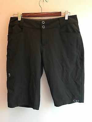 OUTDOOR RESEARCH Women's Ferrosi Shorts Black Hiking Backpacking Size 8