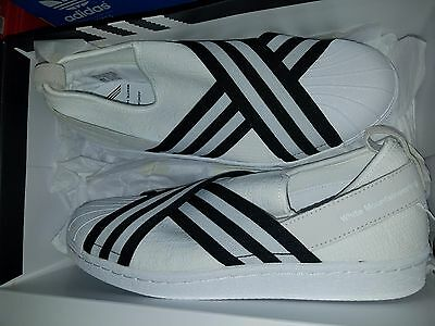 e474e1466a24 Adidas Originals White Mountaineering WM Superstar Slip On PK BY2881 US  size 9