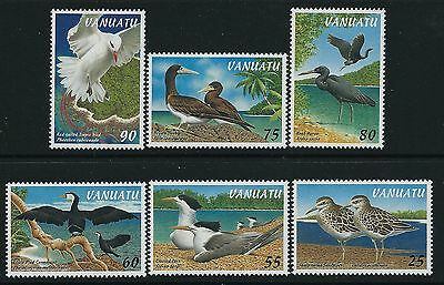 1997 Vanuatu Birds Part I Set Of 6 Fine Mint Mnh/muh
