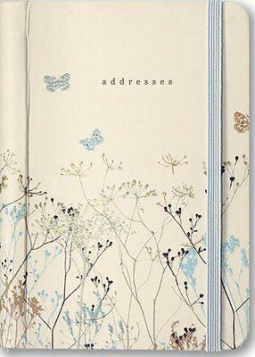 Butterflies Address Book Pocket Sized Diary Peter Pauper Press Address Book New