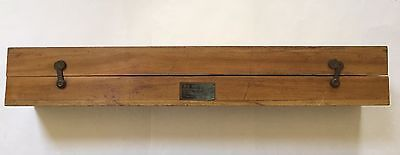 1942 Wooden Case for U. S. Navy Spyglass (16X). **Box Only **