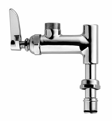 TS Brass B-0155-LN Add-On Faucet for Pre-Rinse Units, Chrome