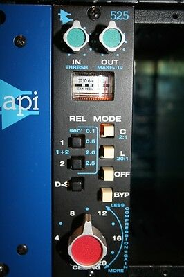 API Audio 525 Compressor API 500 series