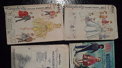 Barbie and Ken 1964 doll patterns and book