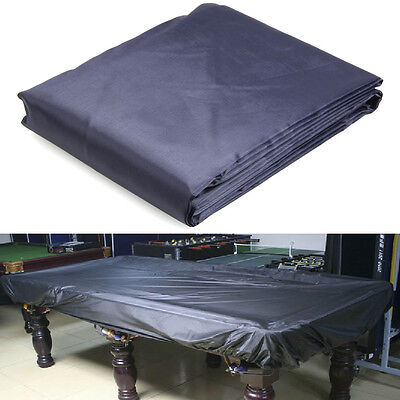 8-Foot Durable Oxford Cloth Pool Table Billiard Cover Deep Blue Lining A6003-3