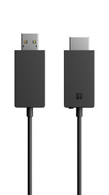 New Microsoft Wireless Display Adapter V2 Model 1733 Black US Fast ship