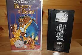 Beauty and the Beast (VHS, 1992) Black Diamond Classics
