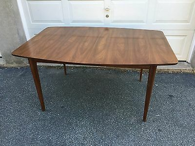 Mid Century Modern Broyhill?? Kent Coffey?? Surfboard Dining Table Vintage