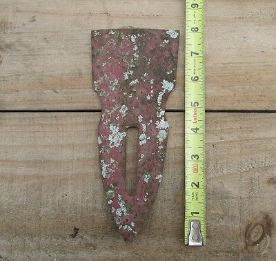 """Vintage Antique PLOW SHARE POINT - 8"""" Farm Tractor Equipment Display"""