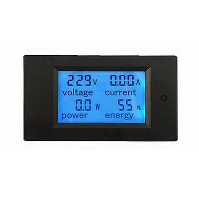 AC 110V 220V Digital 100A Volt Watt Power Meter Ammeter Voltmeter US Ship