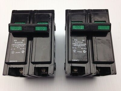 WESTINGHOUSE BAB2030 2 POLE 30 AMP BREAKERS lot of 2