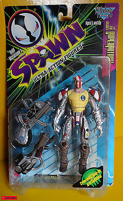 "SPAWN - Serie 6 - SUPERPATRIOT - 7"" (ca.18cm) - Mc Farlane OVP - RARE"