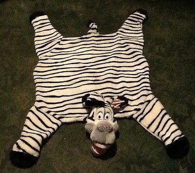 Madagascar Movie Furry Zebra Marty Plush Playmat Rug Carpet Throw Blanket