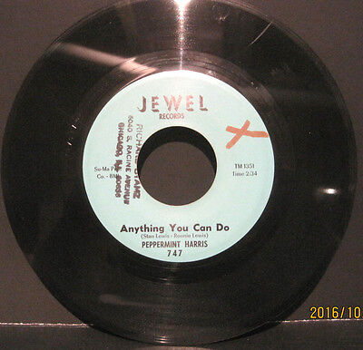 "Peppermint Harris ""Anything You Can Do"" Jewel Records 45rpm #747 EX Cond"