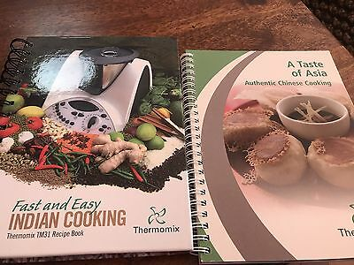 Thermomix TM31 Taste Of Asia And Indian Cookbooks