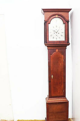 antique London eight day longcase grandfather clock